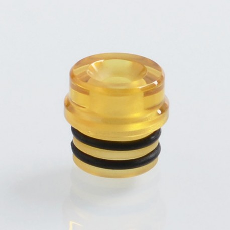 Vapeasy Replacement 510 Drip Tip for Pico Femto Style BF RDA - Yellow, PEI