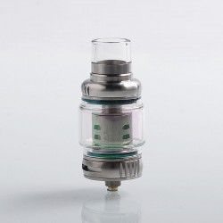 Authentic Vapesoon VS12 Super Cloud Tank Clearomizer - Silver, Stainless Steel, 8ml, 28mm Diameter