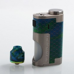 Authentic Oumier Wasp Nano Mechanical Squonk Kit - Green, 1 x 18650, 8ml