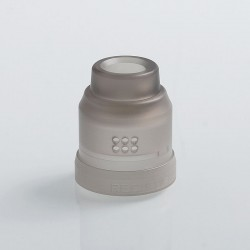 Authentic Wotofo 22mm Conversion Cap for Recurve RDA - Black Frosted