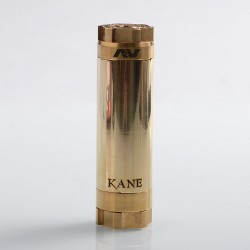 AV Kane Style Hybrid Mechanical Tube Mod - Brass, Brass, 1 x 18650 / 20700