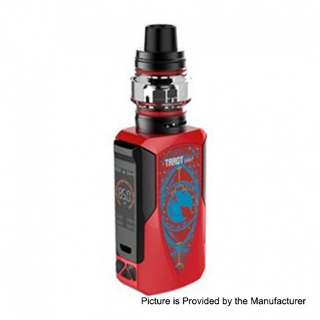 Authentic Vaporesso Tarot Baby 85W 2500mAh TC VW Variable Wattage Box Mod + NRG SE Tank Kit - Red, 5~85W, 4.5ml