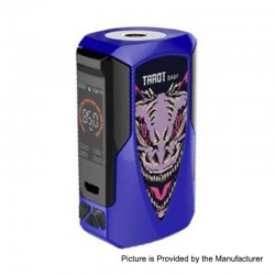 Authentic Vaporesso Tarot Baby 85W 2500mAh TC VW Variable Wattage Box Mod - Blue, 5~85W