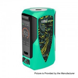 Authentic Vaporesso Tarot Baby 85W 2500mAh TC VW Variable Wattage Box Mod - Green, 5~85W