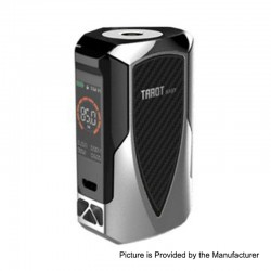 Authentic Vaporesso Tarot Baby 85W 2500mAh TC VW Variable Wattage Box Mod - Silver, 5~85W