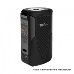Authentic Vaporesso Tarot Baby 85W 2500mAh TC VW Variable Wattage Box Mod - Black, 5~85W