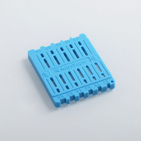 Authentic Hugsvape Coil Trimming Tool for DIY Building - Blue