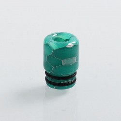 510 Replacement Drip Tip for RDA / RTA / Sub Ohm Tank Atomizer - Green, Resin, 14mm
