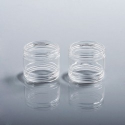 Authentic Steam Crave Replacement Glass Tank Tube for Glaz RTA - 2 PCS