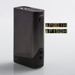 Authentic CigGo Praxis Vapor Banshee Plus 150W TC VW Variable Wattage Box Mod - Black, 1~150W, 2 x 18650