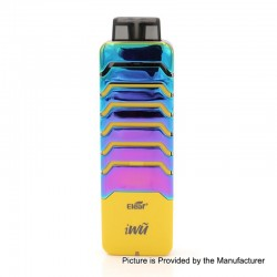 Authentic Eleaf iWu 15W 700mAh Pod System Starter Kit - Dazzling Yellow, 2ml, 1.3 Ohm