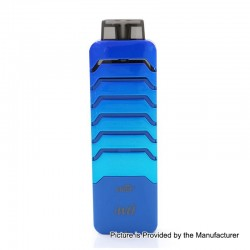 Authentic Eleaf iWu 15W 700mAh Pod System Starter Kit - Blue, 2ml, 1.3 Ohm