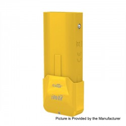 Authentic Eleaf iWu 15W 700mAh Battery Mod - Yellow