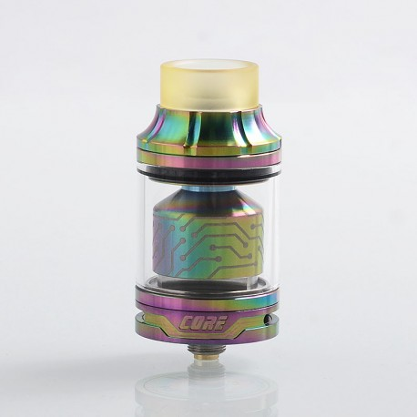Authentic Vapefly x German 103 Team Core RTA Rebuildable Tank Atomizer - Rainbow, Stainless Steel, 4ml, 25mm Diameter