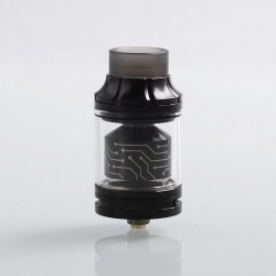 Authentic Vapefly x German 103 Team Core RTA Rebuildable Tank Atomizer - Black, Stainless Steel, 4ml, 25mm Diameter