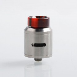 Coil Father Classic G V1.5 Style RDA Rebuildable Dripping Atomizer - Silver, Stainless Steel, 24mm Diameter
