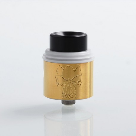 Kindbright Redemption Style RDA Rebuildable Dripping Atomizer - Gold, 316 Stainless Steel, 24mm Diameter