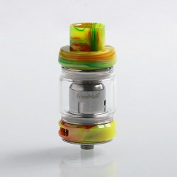 Authentic Freemax Mesh Pro Sub Ohm Tank Clearomizer - Green, Stainless Steel + Resin, 5ml / 6ml, 25mm Diameter