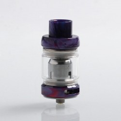 Authentic Freemax Mesh Pro Sub Ohm Tank Clearomizer - Purple, Stainless Steel + Resin, 5ml / 6ml, 25mm Diameter