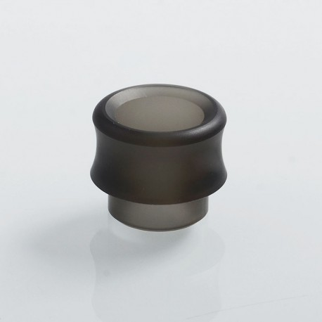 Authentic Wotofo Replacement 810 Drip Tip for Recurve RDA - Black Frosted, Acrylic
