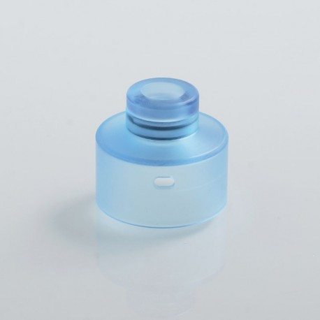 Replacement 510 Drip Tip + Top Cap for Narda Style RDA - Blue, PMMA