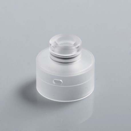 Replacement 510 Drip Tip + Top Cap for Narda Style RDA - White, PMMA