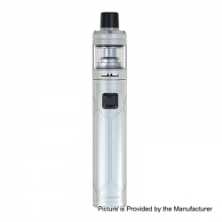 Authentic Joyetech EXCEED NC 2300mAh Battery Mod + NotchCore Tank Starter Kit - White, 2.5ml, 0.45 Ohm