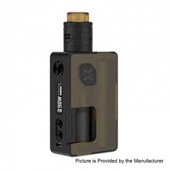 Authentic Vandy Vape Pulse X 90W TC VW Squonk Box Mod + Pulse X BF RDA Kit - Frosted Amber, 5~90W, 1 x 18650 / 20700 / 21700