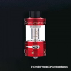 Authentic Steam Crave Aromamizer Plus RDTA Rebuildable Dripping Tank Atomizer - Red, Stainless Steel, 10ml, 30mm Diameter