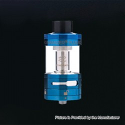 Authentic Steam Crave Aromamizer Plus RDTA Rebuildable Dripping Tank Atomizer - Blue, Stainless Steel, 10ml, 30mm Diameter