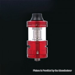 Authentic Steam Crave Aromamizer Supreme V2 RDTA Rebuildable Dripping Tank Atomizer - Red, 5ml, 25mm Diameter