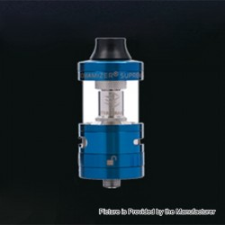 Authentic Steam Crave Aromamizer Supreme V2 RDTA Rebuildable Dripping Tank Atomizer - Blue, 5ml, 25mm Diameter