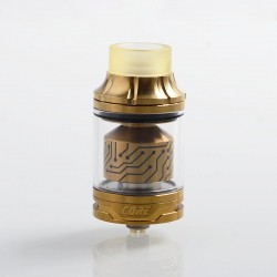 Authentic Vapefly x German 103 Team Core RTA Rebuildable Tank Atomizer - Gold, Stainless Steel, 4ml, 25mm Diameter