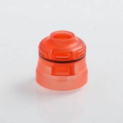 Authentic Phevanda Replacement Top Cap for Bell RDA - Red, PMMA