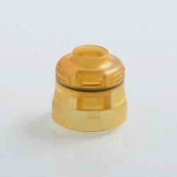 Authentic Phevanda Replacement Top Cap for Bell RDA - Yellow, PEI