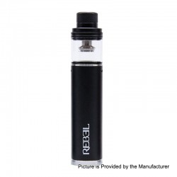 Authentic Smokjoy Rebel 2200mAh All-in-One Starter Kit - Black, 3.5ml