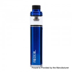 Authentic Smokjoy Rebel 2200mAh All-in-One Starter Kit - Blue, 3.5ml