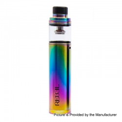 Authentic Smokjoy Rebel 2200mAh All-in-One Starter Kit - Rainbow, 3.5ml