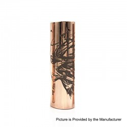 Rogue Toys In The Attic Style Hybrid Mechanical Tube Mod - Copper, Copper, 1 x 18650