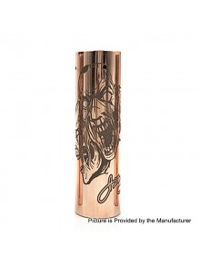 Rogue 3 Faces Style Hybrid Mechanical Tube Mod - Copper, Copper, 1 x 18650 / 20700