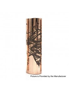 Rogue Style Hybrid Mechanical Tube Mod - Copper, Copper, 1 x 18650 / 20700