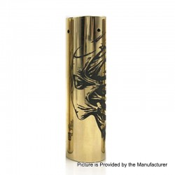Rogue Toys In The Attic Style Hybrid Mechanical Tube Mod - Brass, Brass, 1 x 18650 / 20700