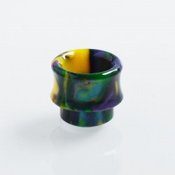 Authentic Wotofo Replacement 810 Drip Tip for Recurve RDA - Rainbow, Resin