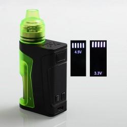 Authentic Vandy Vape Simple EX Squonk Box Mod + EX RDA Kit - Green, 3.3~4.5V, 4ml
