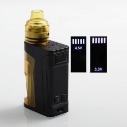 Authentic Vandy Vape Simple EX Squonk Box Mod + EX RDA Kit - Ultem, 3.3~4.5V, 4ml