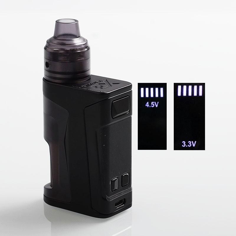 Buy Authentic Vandy Vape Simple EX Squonk Kit Black