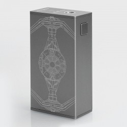 Authentic USV L USV-L 75W TC VW Variable Wattage Box Mod - Grey Force, Zinc Alloy, 1~75W, 1 x 18650, VO 75 Chip