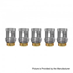Authentic Snowwolf Replacement WF-H Coil Head for Vfeng Sub Ohm Tank - 0.16 Ohm (100~230W) (5 PCS)