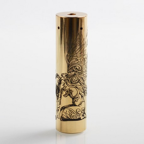 Rogue American Angel Style Hybrid Mechanical Tube Mod - Brass, Brass, 1 x 18650 / 20700