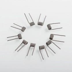 Authentic Vandy Vape Clapton Helix Coil - 28GA (A1) x 38GA (Ni80) x 2 + 26GA (A1) x 2, 0.3 Ohm (10 PCS)